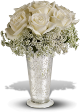 White Lace Centerpiece
