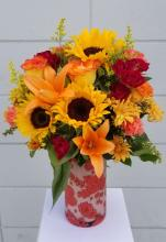Bring Fall Flowers Bouquet