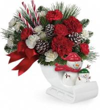 Send a Hug Open Sleigh Ride by Teleflora