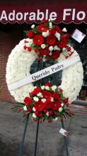 Rest in peace wreath