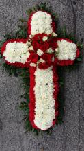Red and White Cross