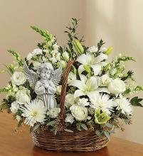Heavenly Angel™ All White Basket