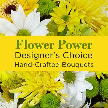 A Yellow Colors Florist Designed Bouquet