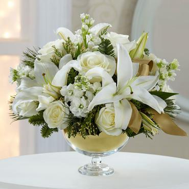 The Holiday Elegance Bouquet by Vera Wang