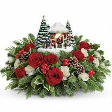 Thomas Kinkade\'s Jolly Santa