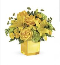 Sunny Mood Bouquet - Cube
