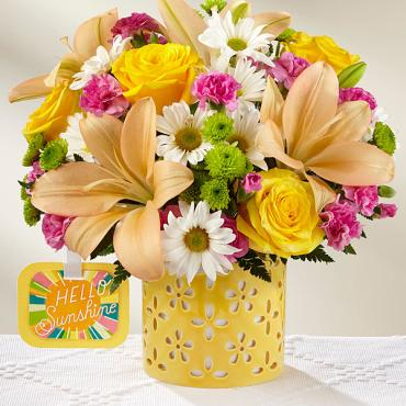 The Brighter Than Bright™ Bouquet by Hallmark