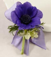 The Purple Passion™ Boutonniere