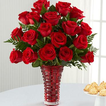 The In Love with Red Roses